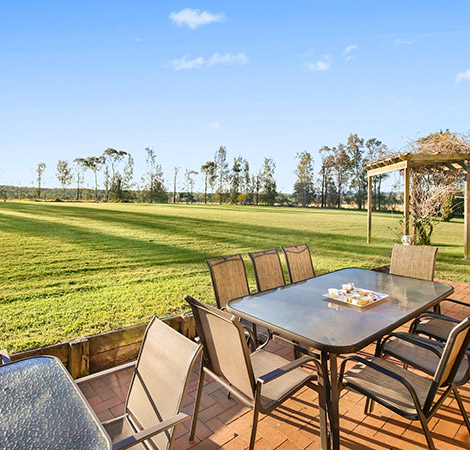 Places to stay in the hunter valley, with a beautiful view
