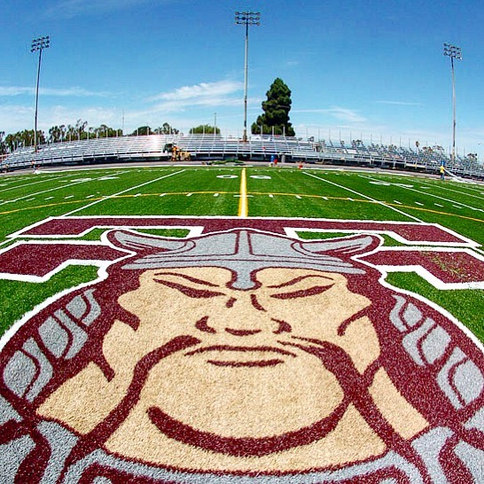 Torrance High's football stadium was renamed Zamperini Stadium in 1987. If you can remember, the grass was replaced by synthetic turf the year we graduated!