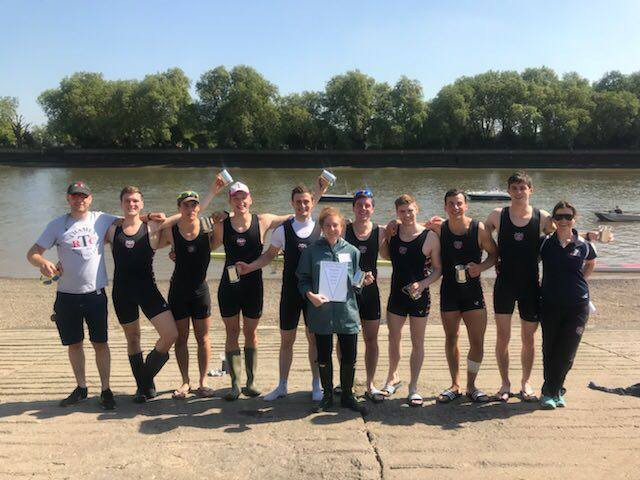 Putney Town M8+ champions