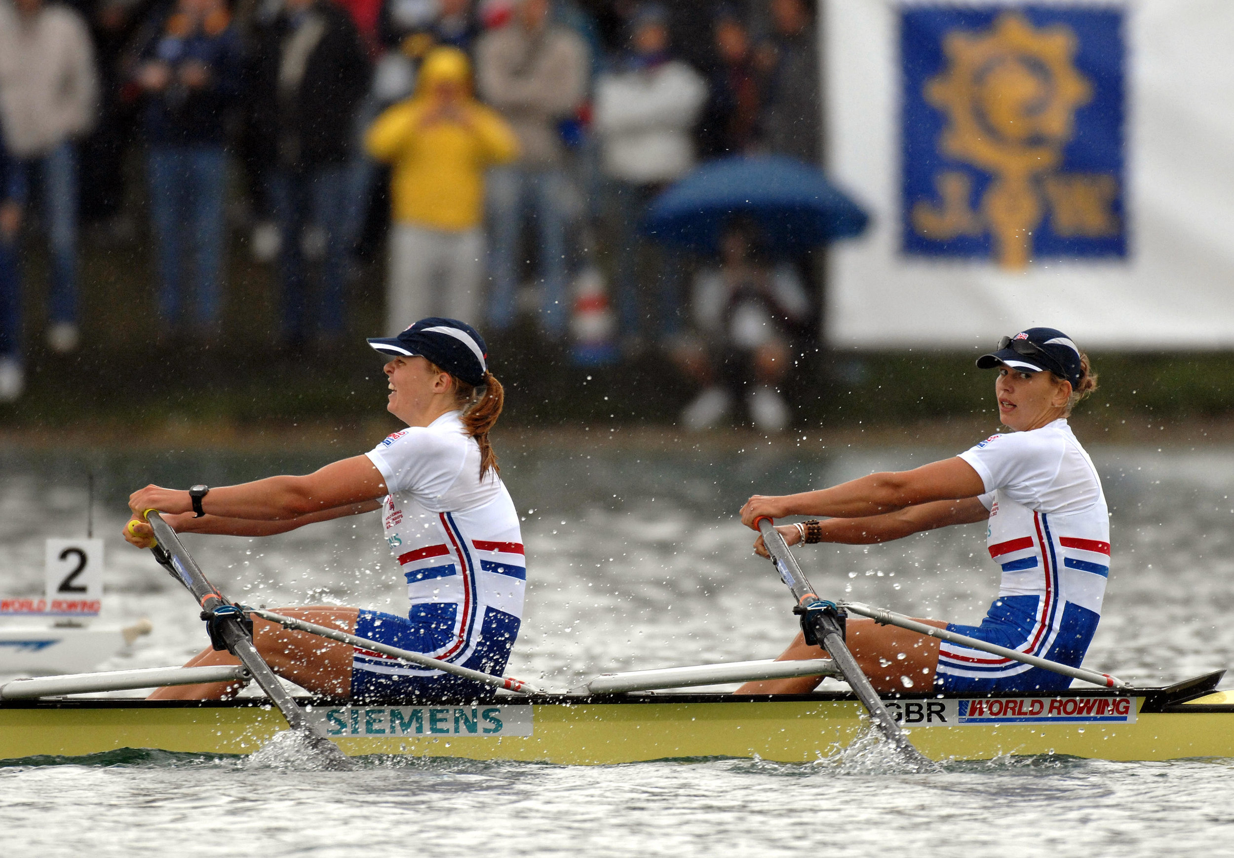GB W2x, Beijing 2008 Olympic Games