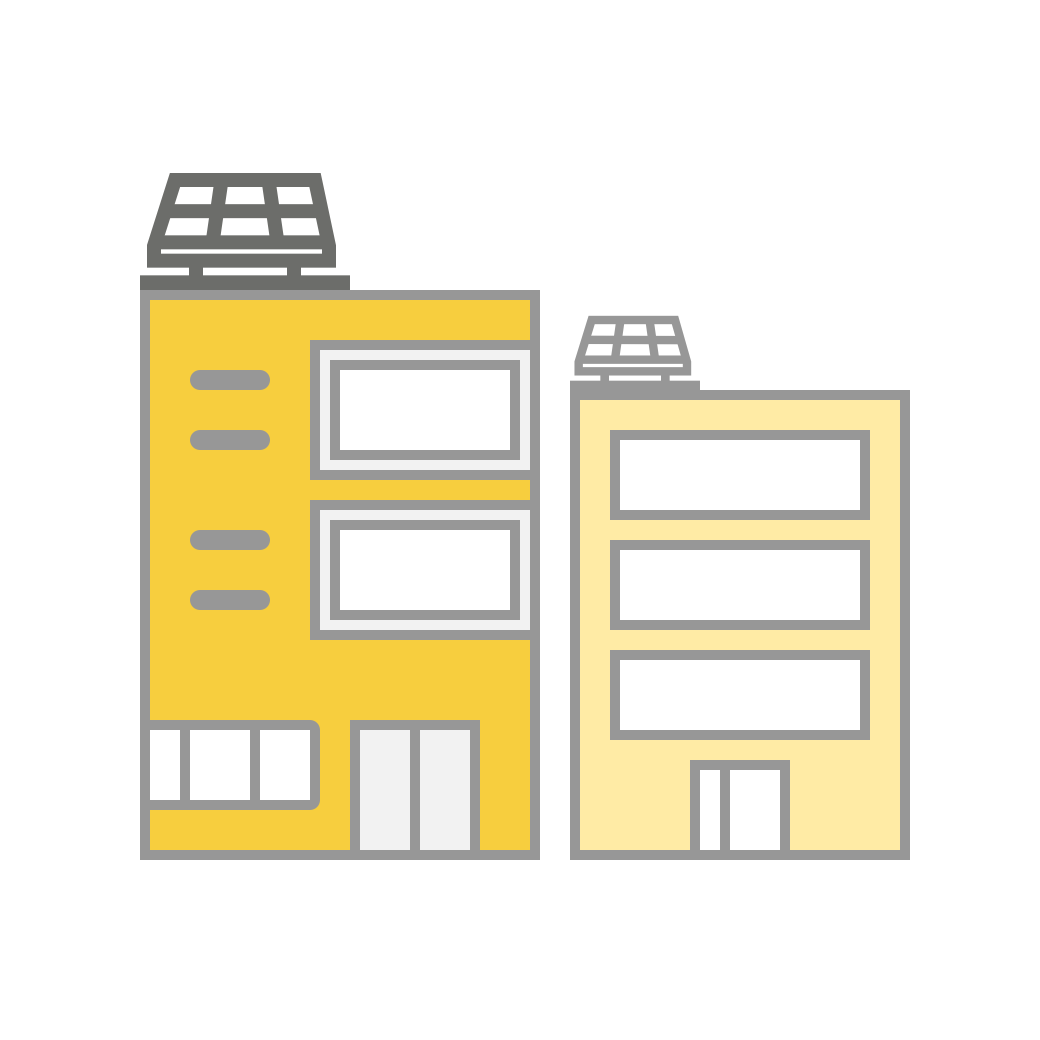 SolarShare mixed use buildings