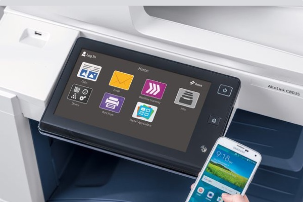 Managed Print Services - Seamless integration with Xerox MPS (Intelligent Workplace Services) for optimum functionality