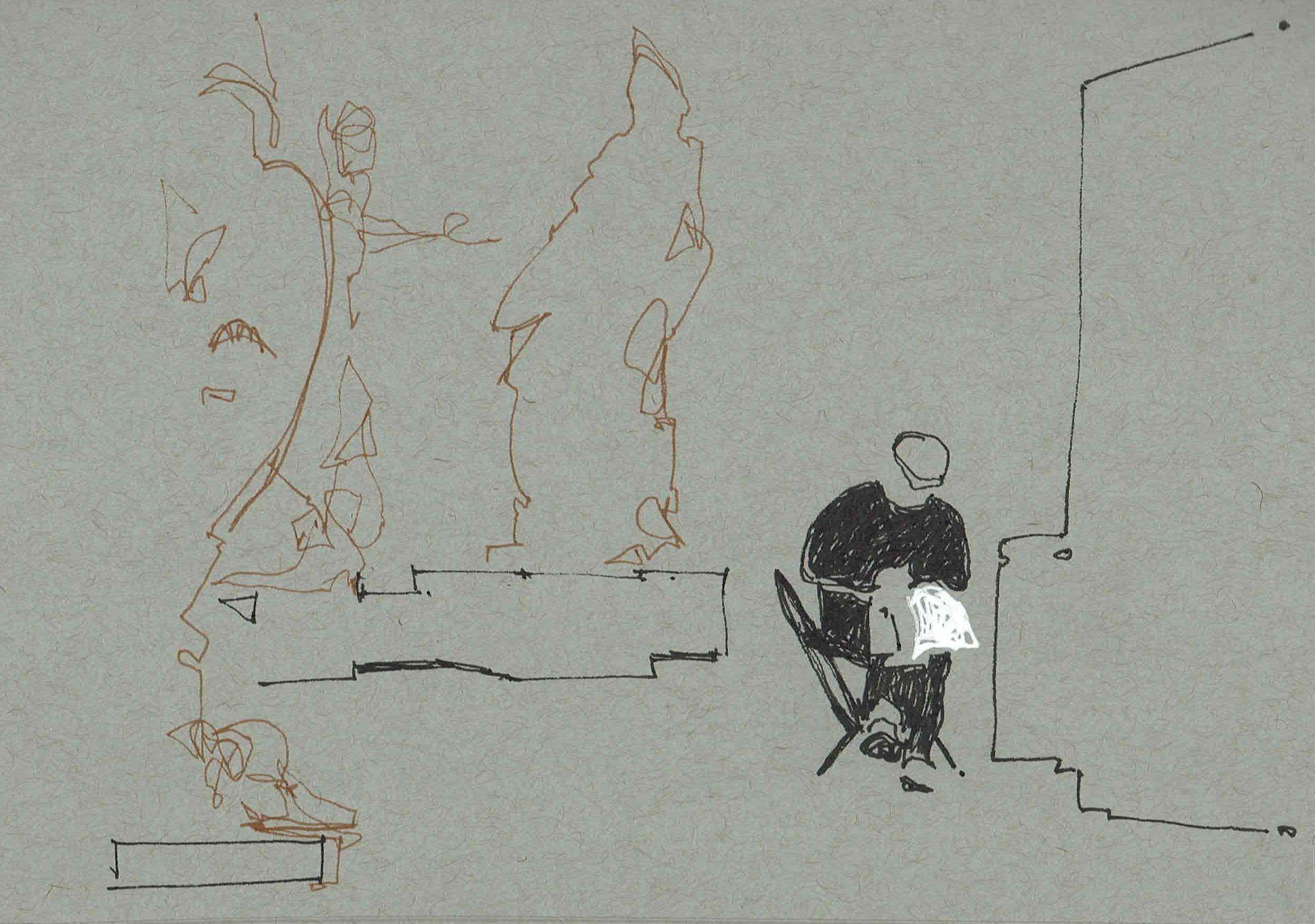 20170108 5 sketching among statues.JPG