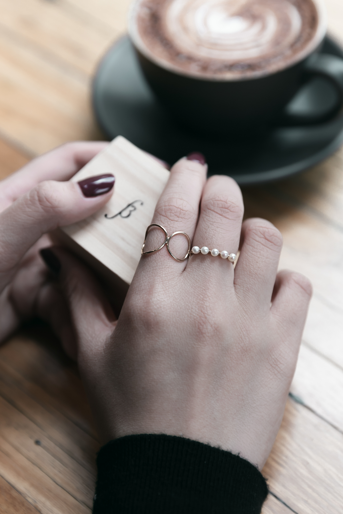 SUD RING & PHOEBE PERLE RING