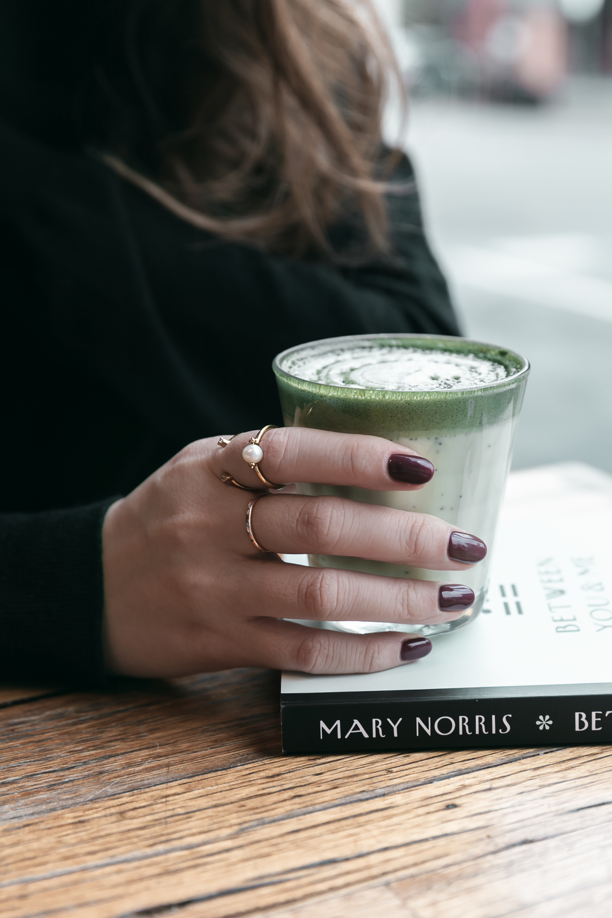 INDEX FINGER: OPEN PEARL INFINITY RING