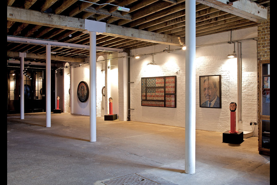 Installation view: American History X