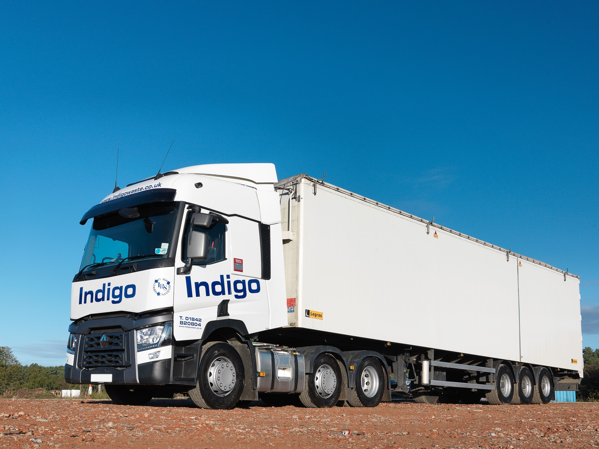 Third-party haulage - These are the vehicles we use to haul our bottles and paper to the recycling processing plants.Learn how these trucks are used here.