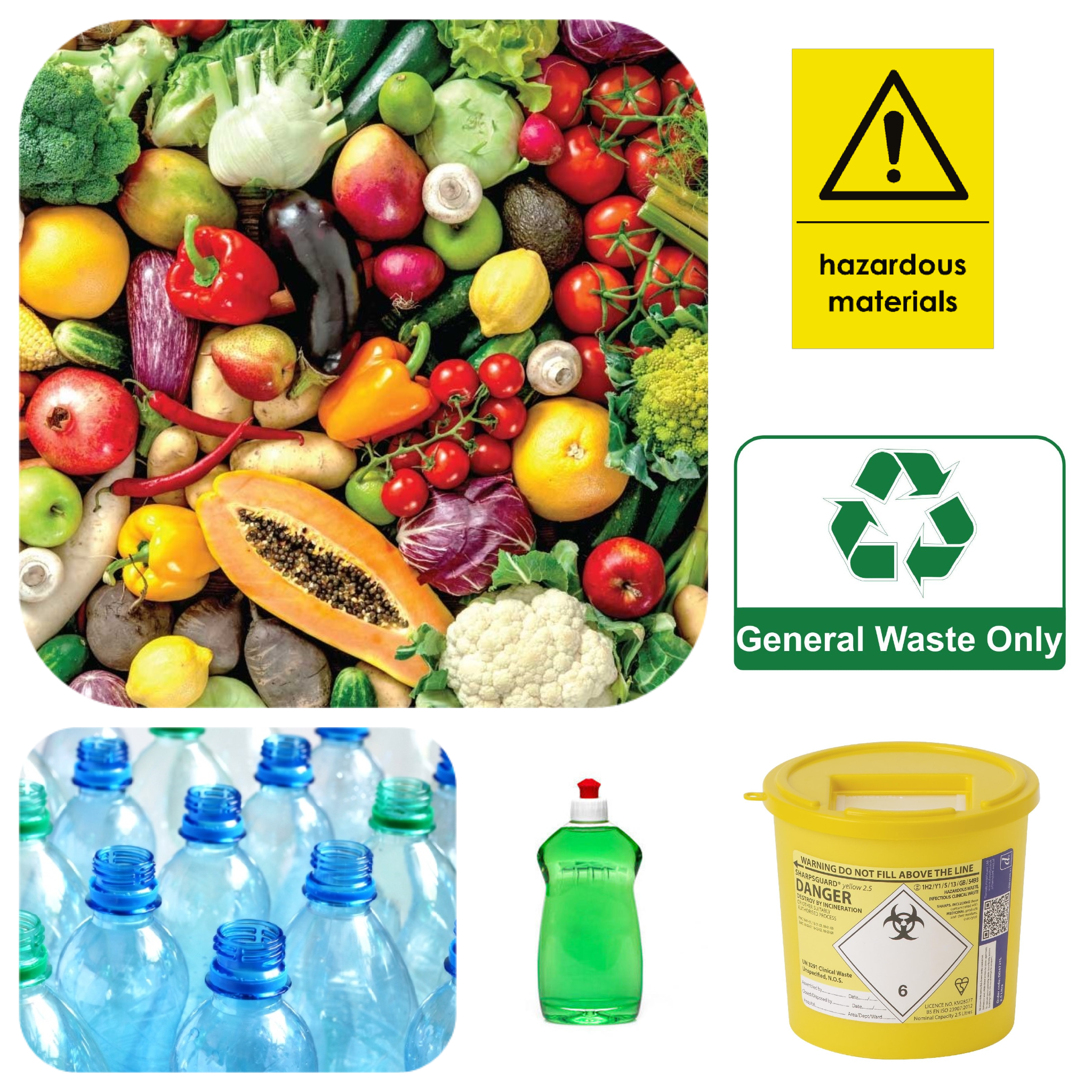 What not to put into a bottle bank - A list of materials not suitable for bottle banks:- Ceramics And Heat Tempered Glass (Cups & Saucers, Plates, Ceramic Tiles, Pyrex Glass, Test Tubes, etcetera).- Non-Hazardous & Hazardous General Waste (Food Waste, Non-recyclables, etcetera).- Other Recyclables (Paper, Plastics, Cardboard, etcetera).- Liquids (Hazardous or otherwise).- Sharps Or Other Potentially Harmful Objects That Are Not Glass.