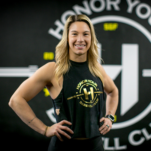 Nicole Capurso   Co-Owner // Nutrition Coach // Weightlifting