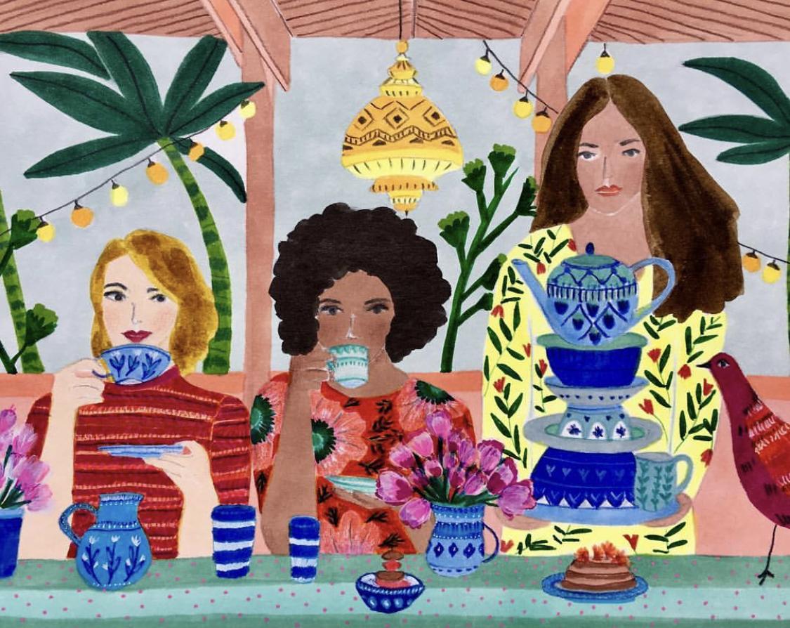 Illustration by Roeqiya Fris/ @roequie