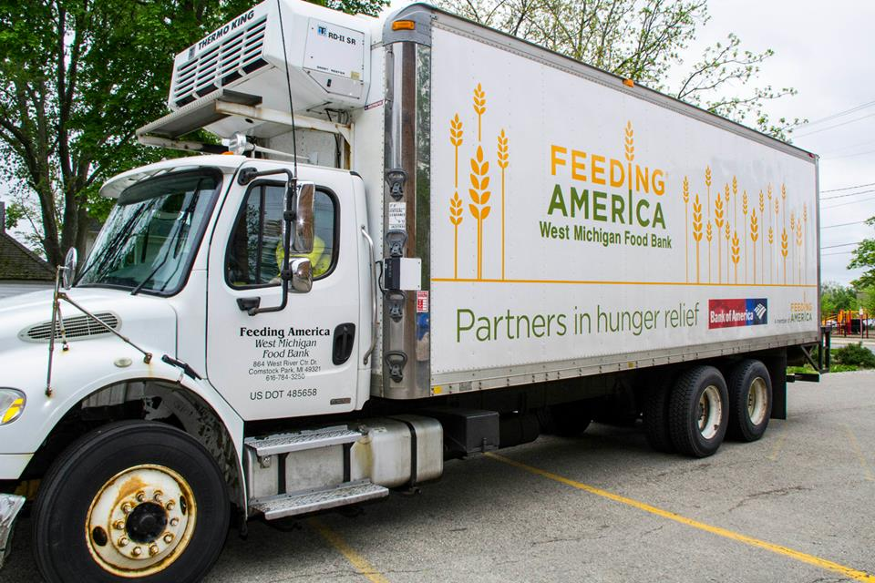 Feeding America - West Michigan - West MichiganTheir mission is to gather and distribute food to relieve hunger and increase food security in West Michigan and the Upper Peninsula.