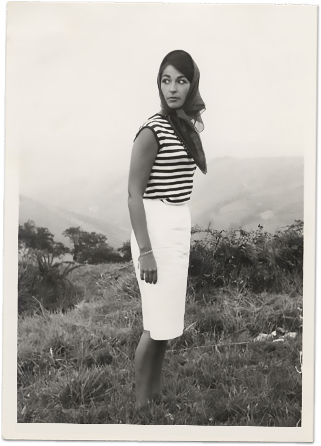 Mercedes Castillo's mother, Mercedes, 1960s
