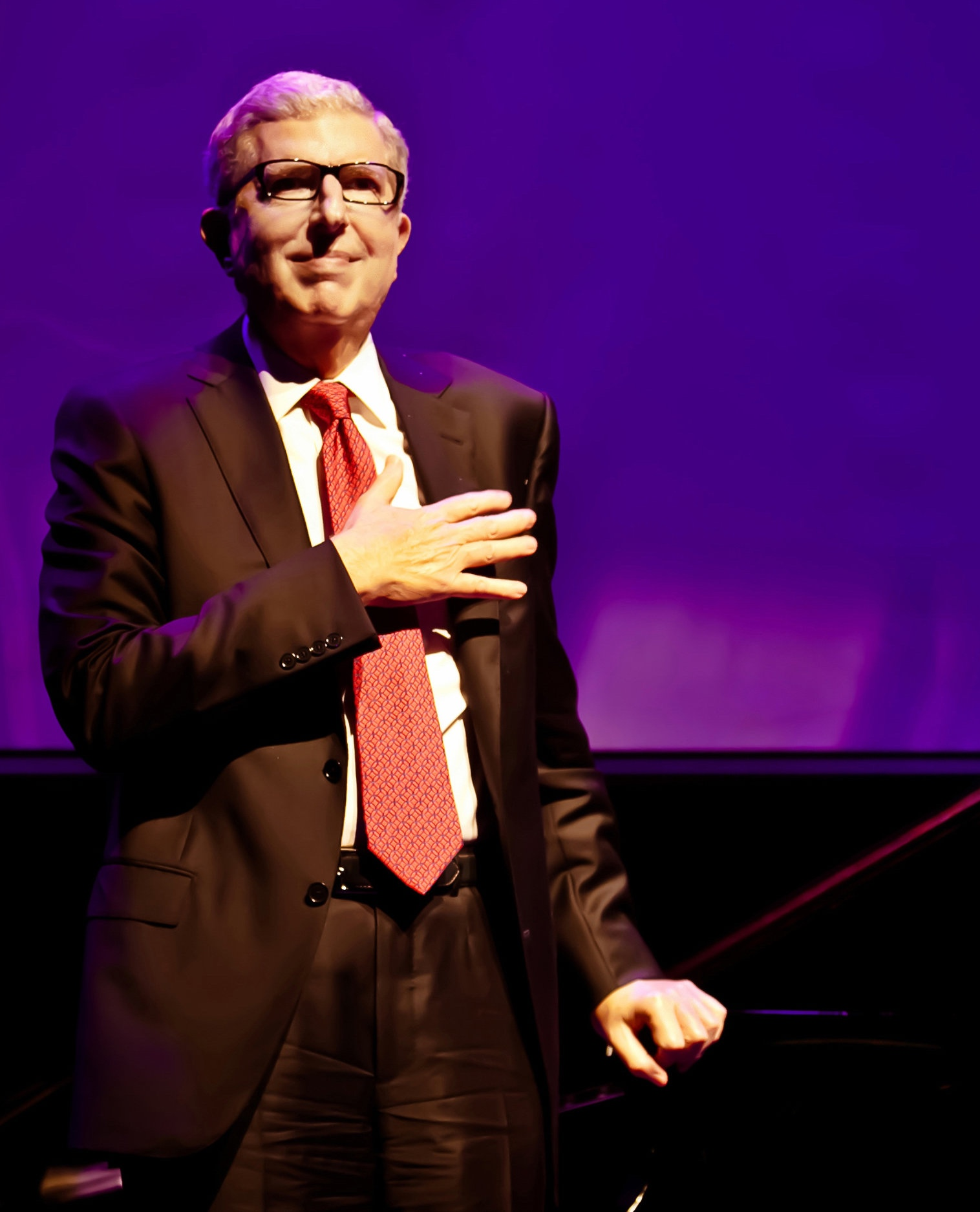 Marvin Hamlisch at the 2012 CINE Awards Gala, where he announced the creation of a film scoring contest for emerging composers. Photo:    Inbal More Photography