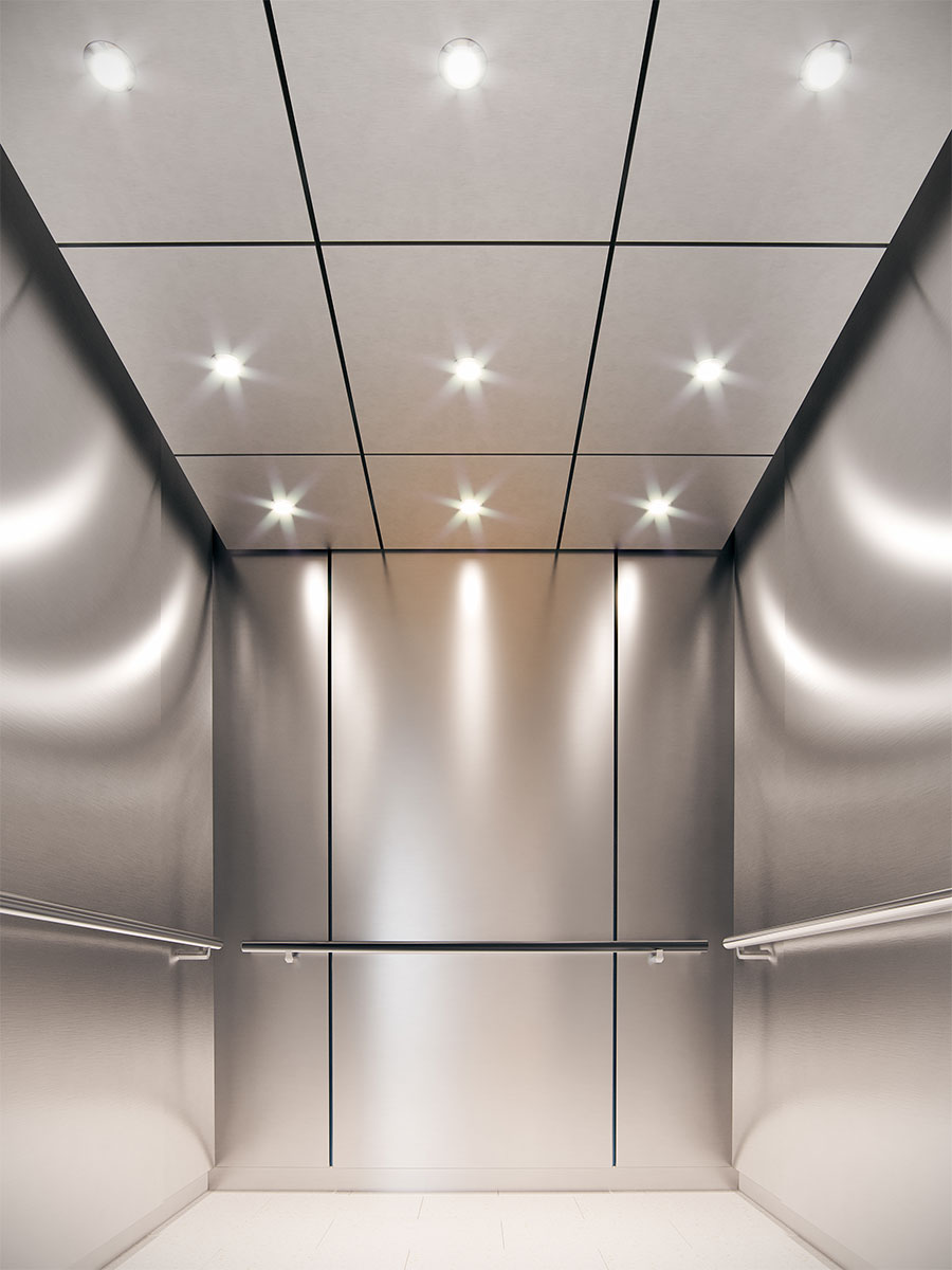 Metal lift ceilings -