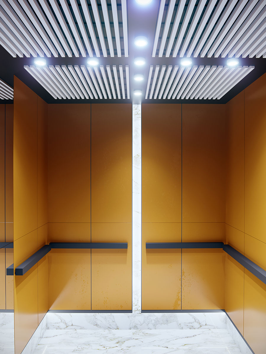 baffle lift ceilings -