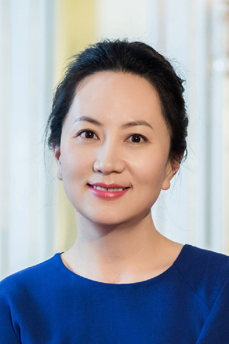 At the centre of the storm: Huawei CFO Meng Wanzhou |  HUAWEI