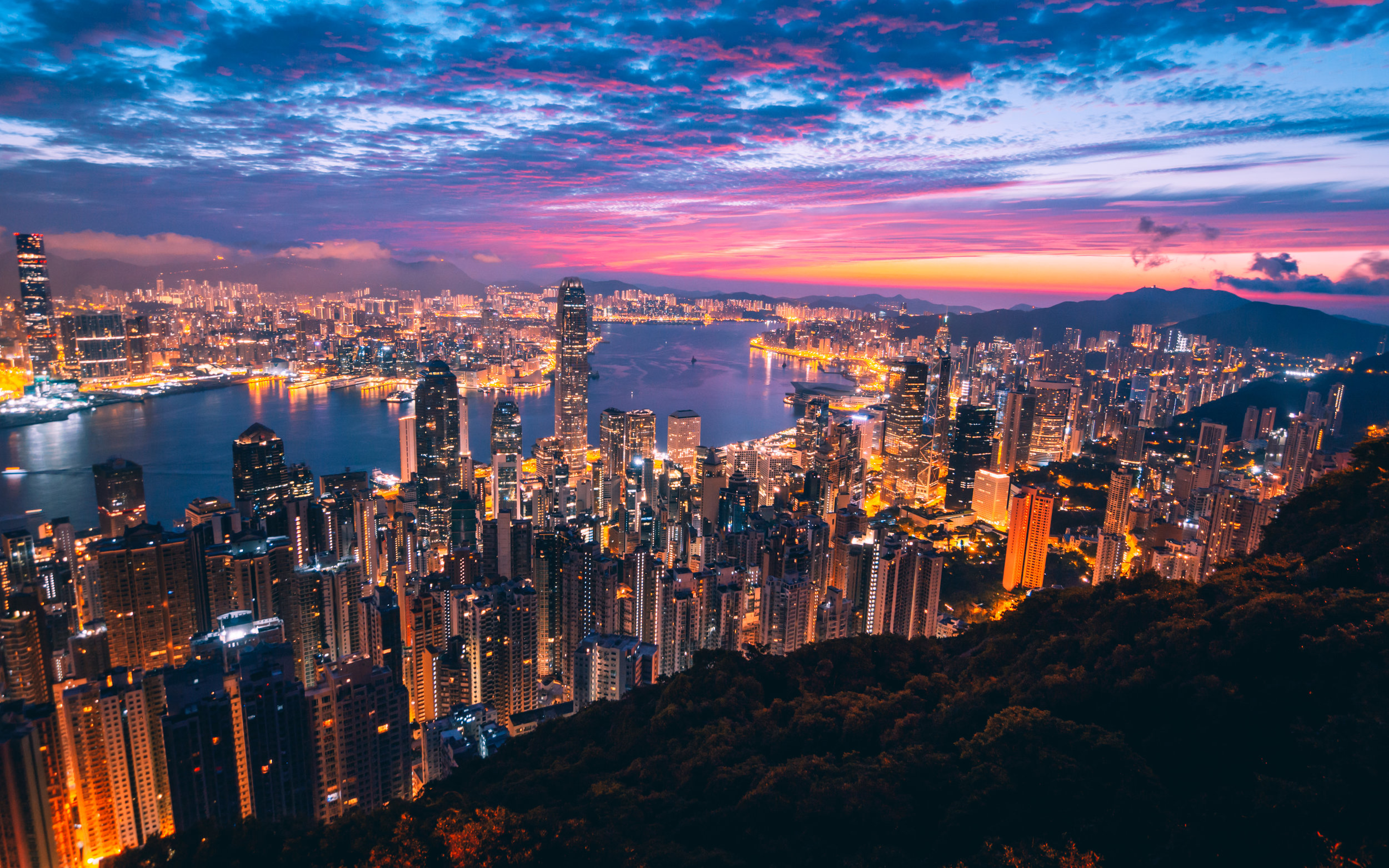 There are fears that the protests will damage Hong Kong's reputation as a global economic hub