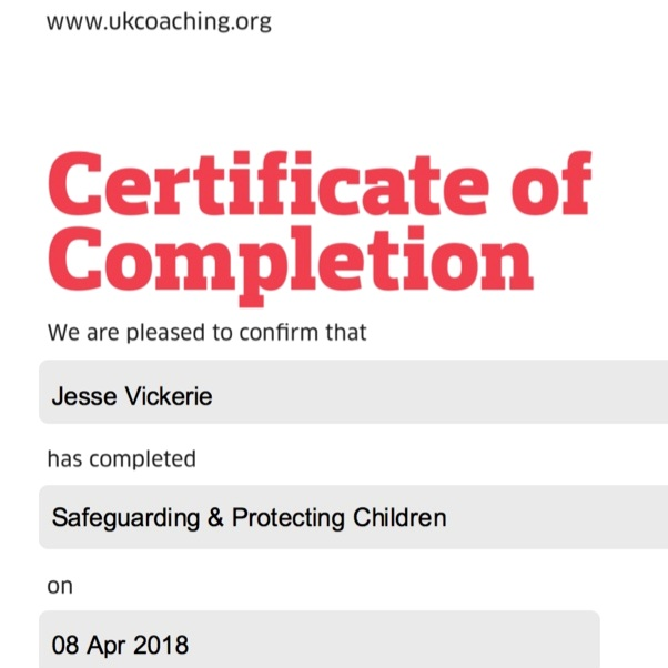 SAFEGUARDING & PROTECTING CHILDREN - AT UK COACHING