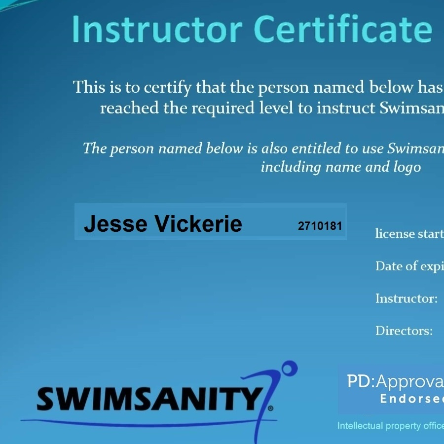 SWIMSANITY - AQUA INSTRUCTOR IN HIGH INTENSITY AQUA FITNESS