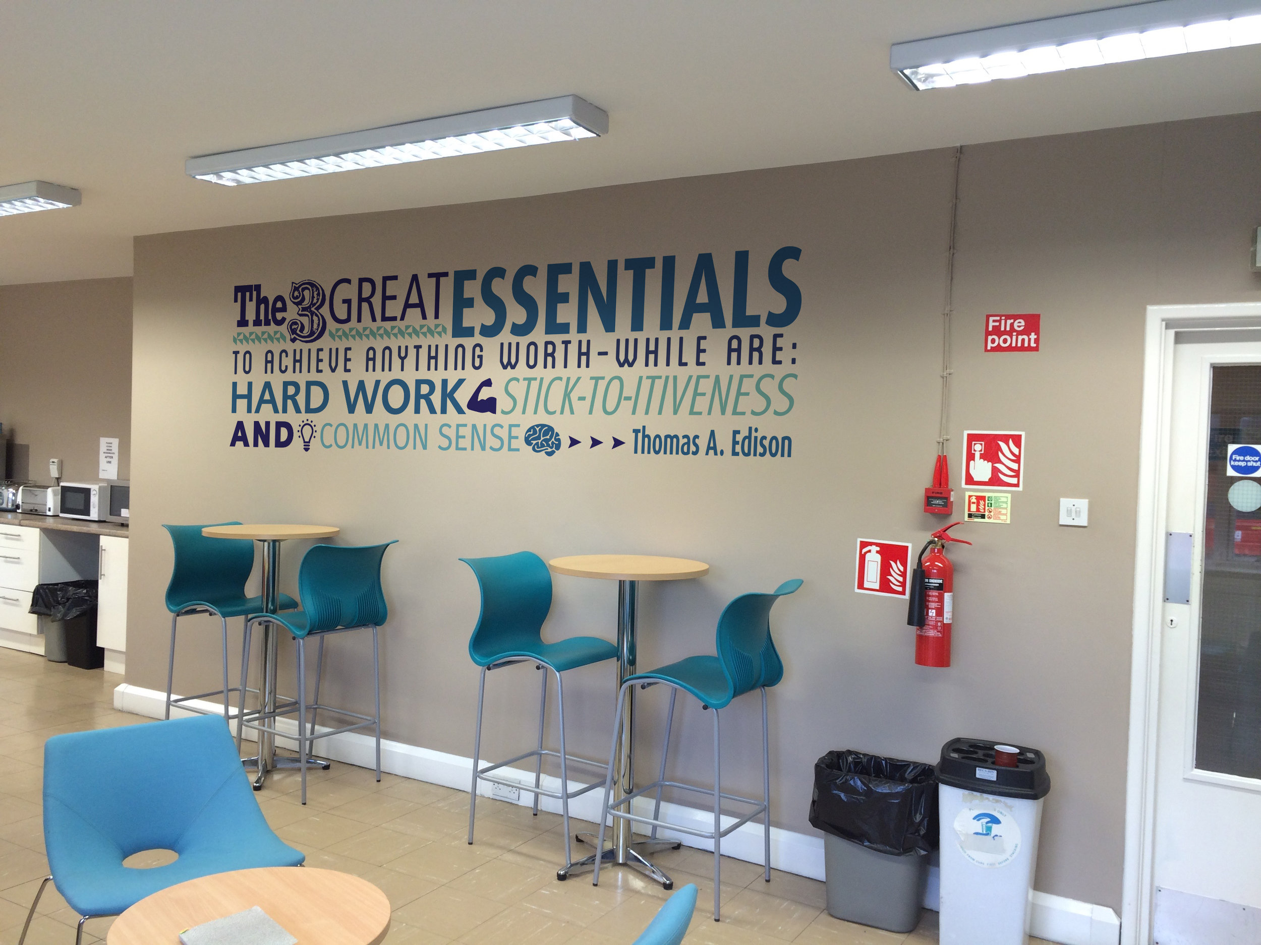 Quote Wall Graphics