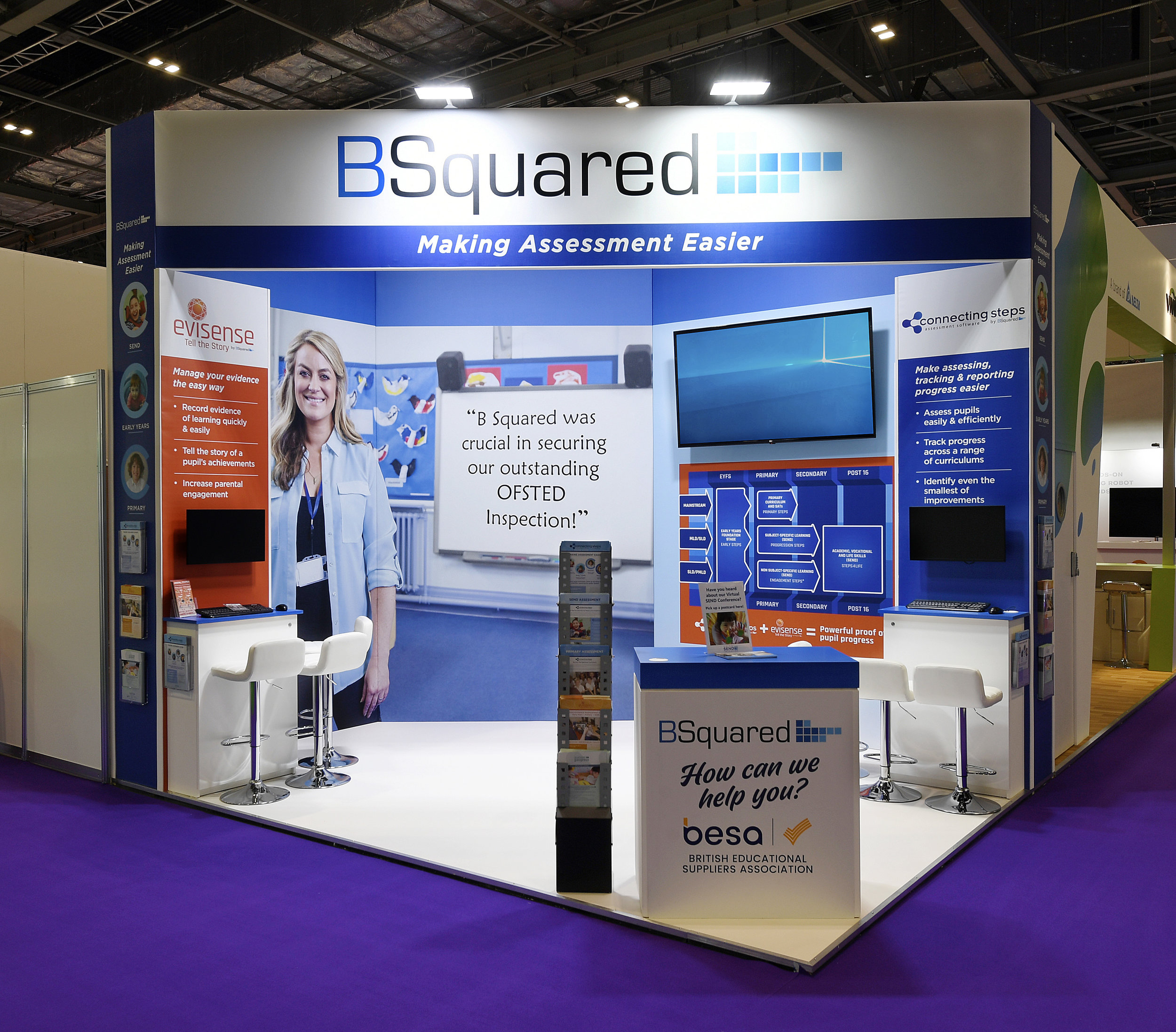 B Squared Exhibition Stand Design