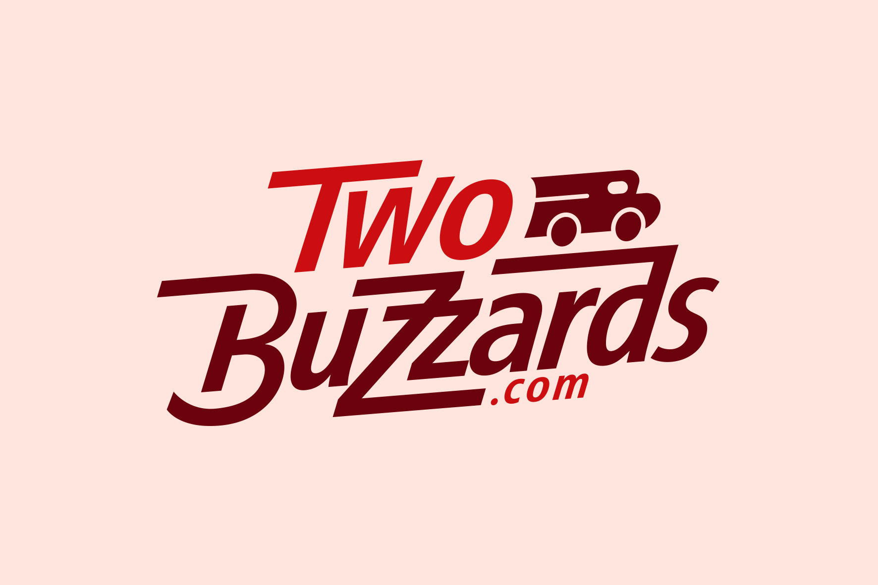 Brand logo for Two Buzzards courier company