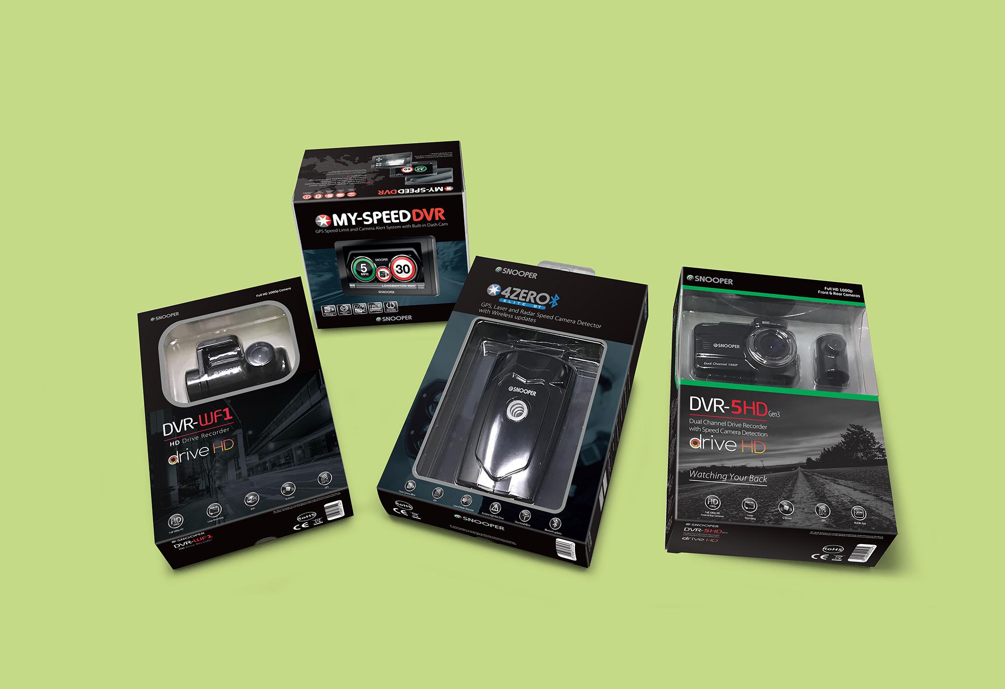 Snooper Electronics Packaging Designs