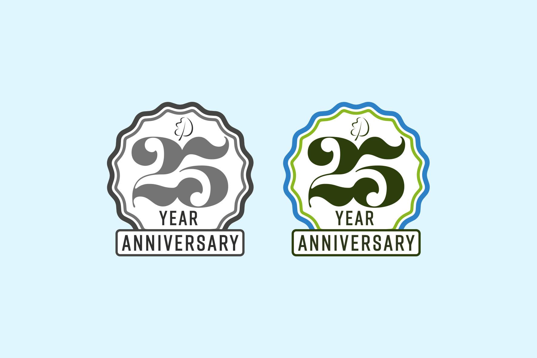 25 year Anniversary Logo Design