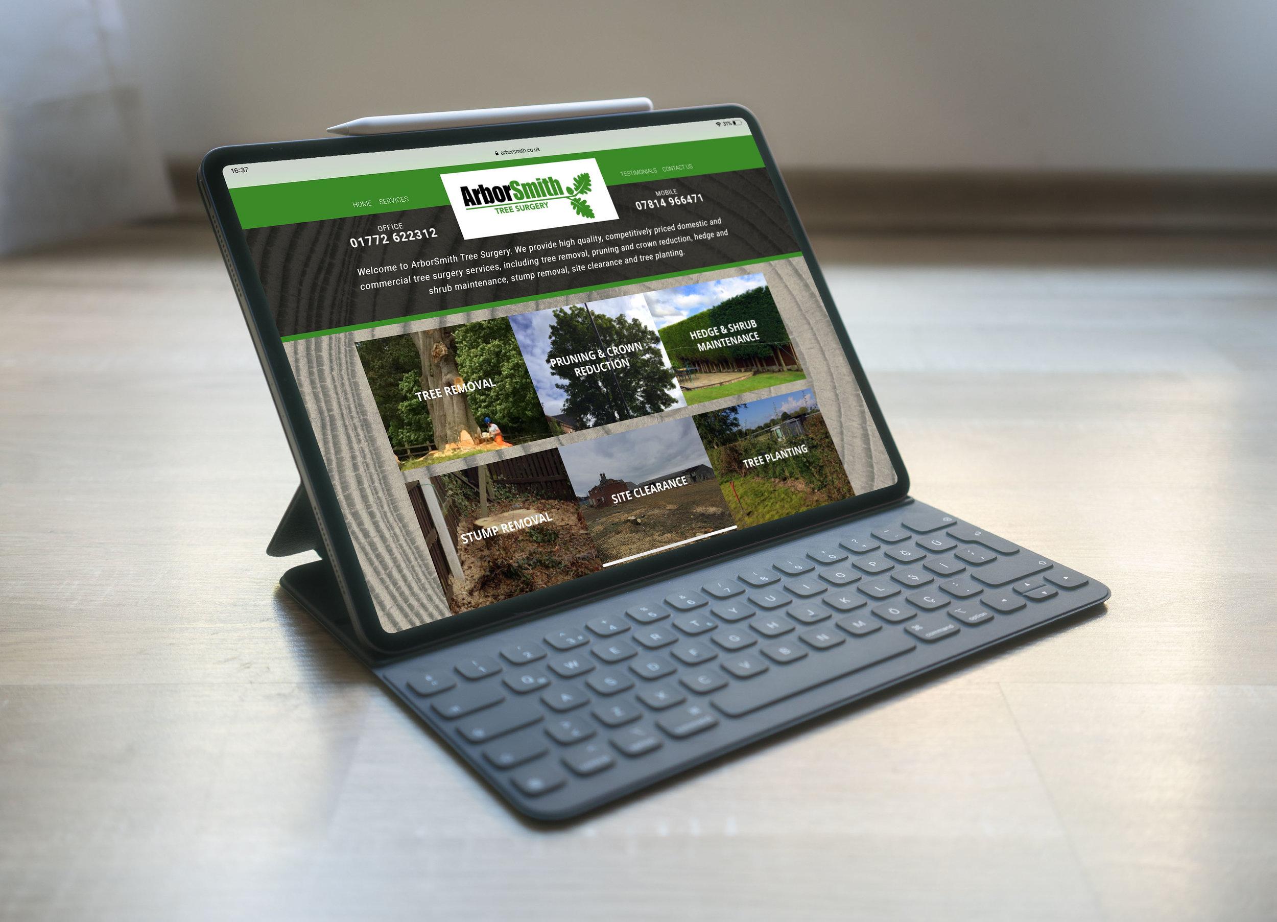 ArborSmith Website Design