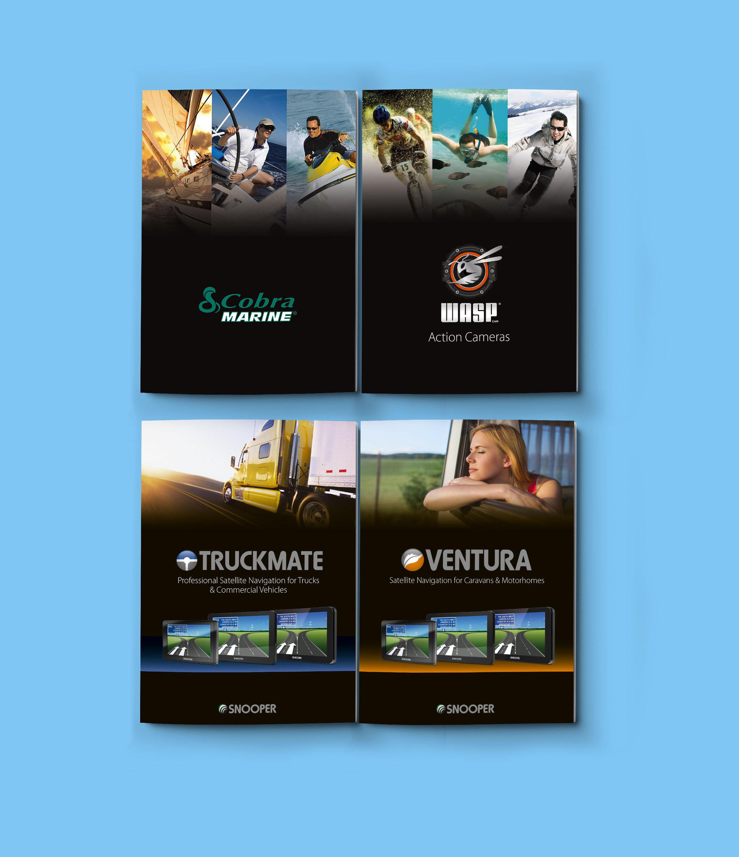 Snooper Electronics Brochure Designs