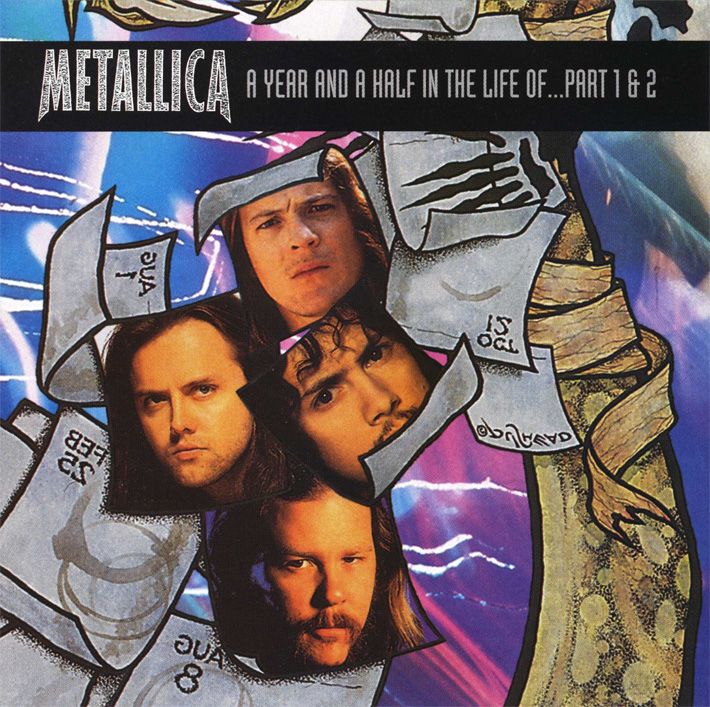 """Metallica""""A Year And A Half In The Life Of Metallica Parts 1 & 2"""""""