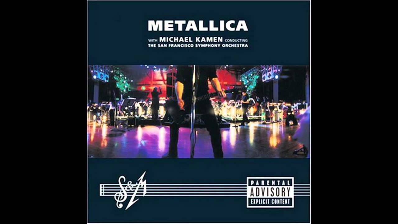 """Metallica """"S&M with the San Francisco Symphony"""""""