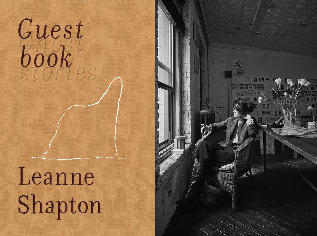 LEANNE SHAPTON, GUESTBOOK - One of our most imaginative writers and artists explores the visitations that haunt us in the midst of life, and reinvents the very way we narrate experience.