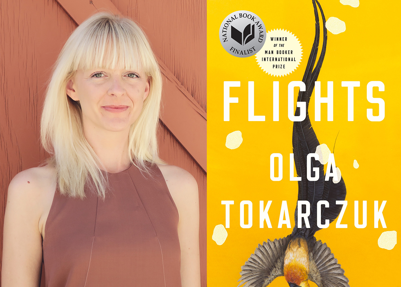 OLGA TOKARCZUK, FLIGHTS (trans. BY JENNIFER CROFT) - From the incomparably original Polish writer Olga Tokarczuk, Flights interweaves reflections on travel with an in-depth exploration of the human body, broaching life, death, motion, and migration.