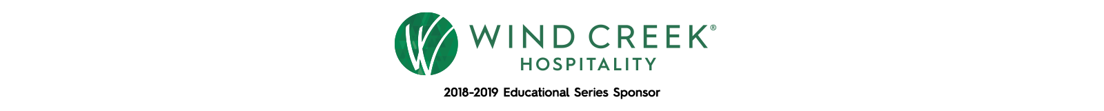 Thank you  Wind Creek Hospitality  for your continuous support in funding our workshops.