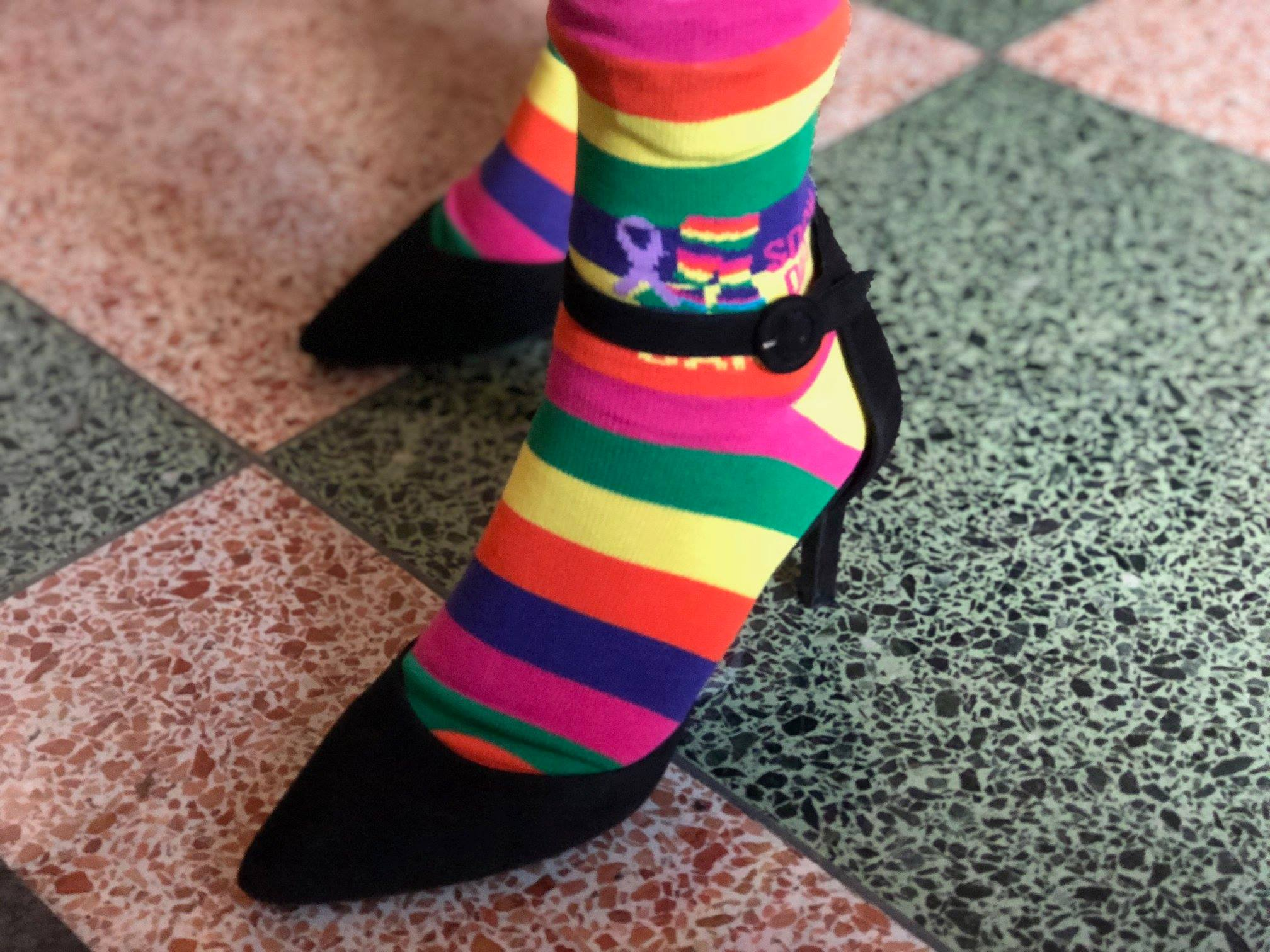 Sock Out Cancer and High Heels
