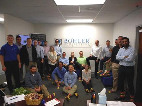 Bohler Sock Out Cancer Photo