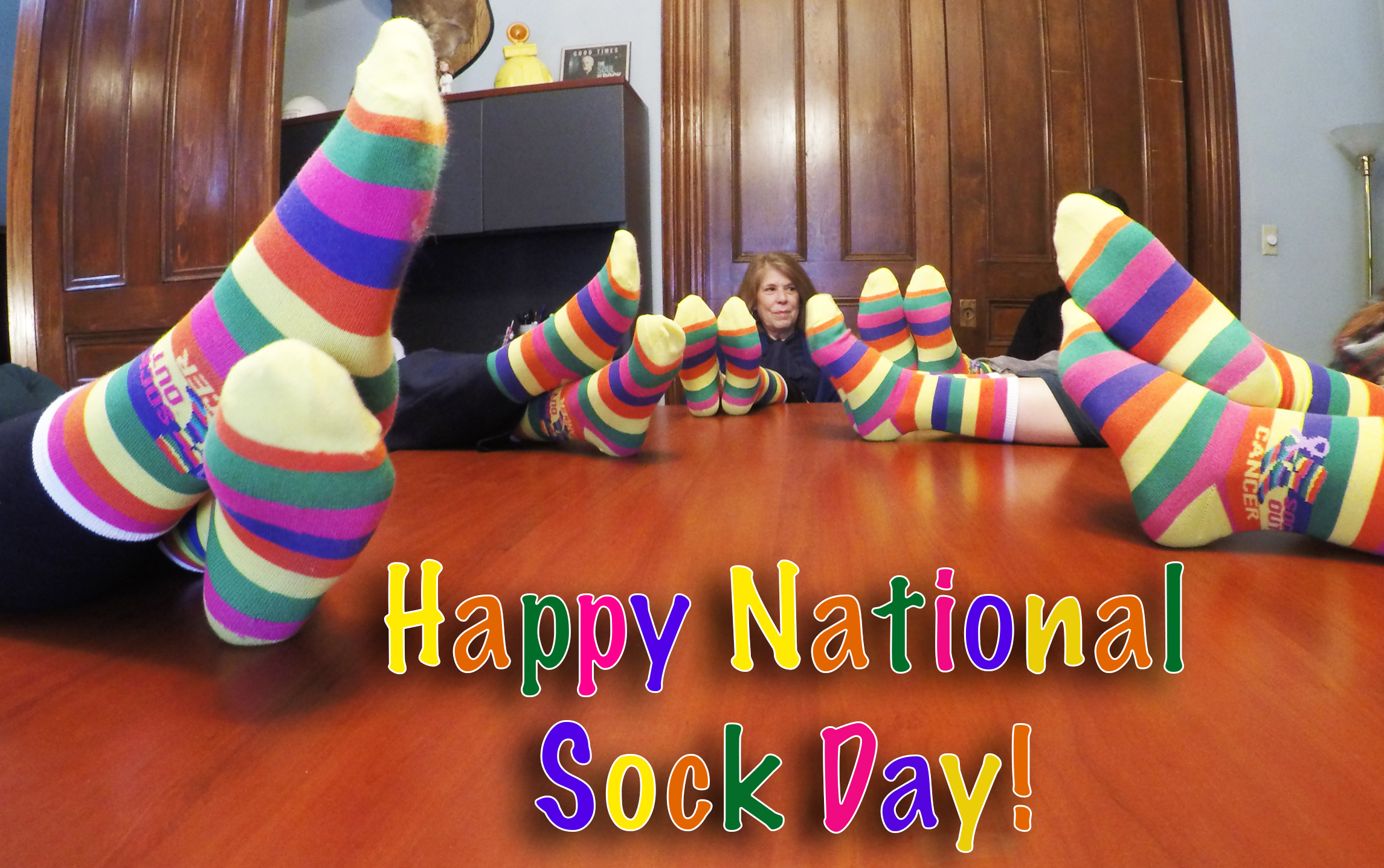 Happy National Sock Day