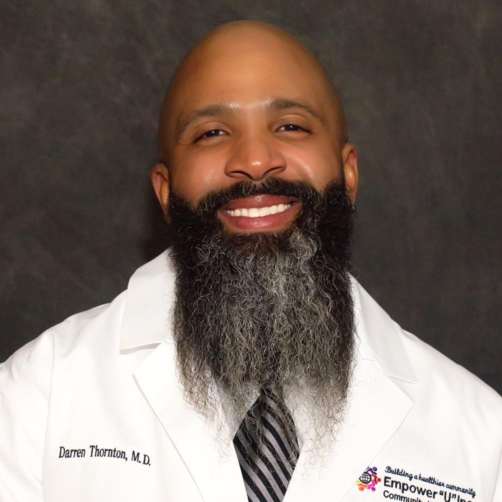 Darren Thornton, MD  Chief Medical Officer