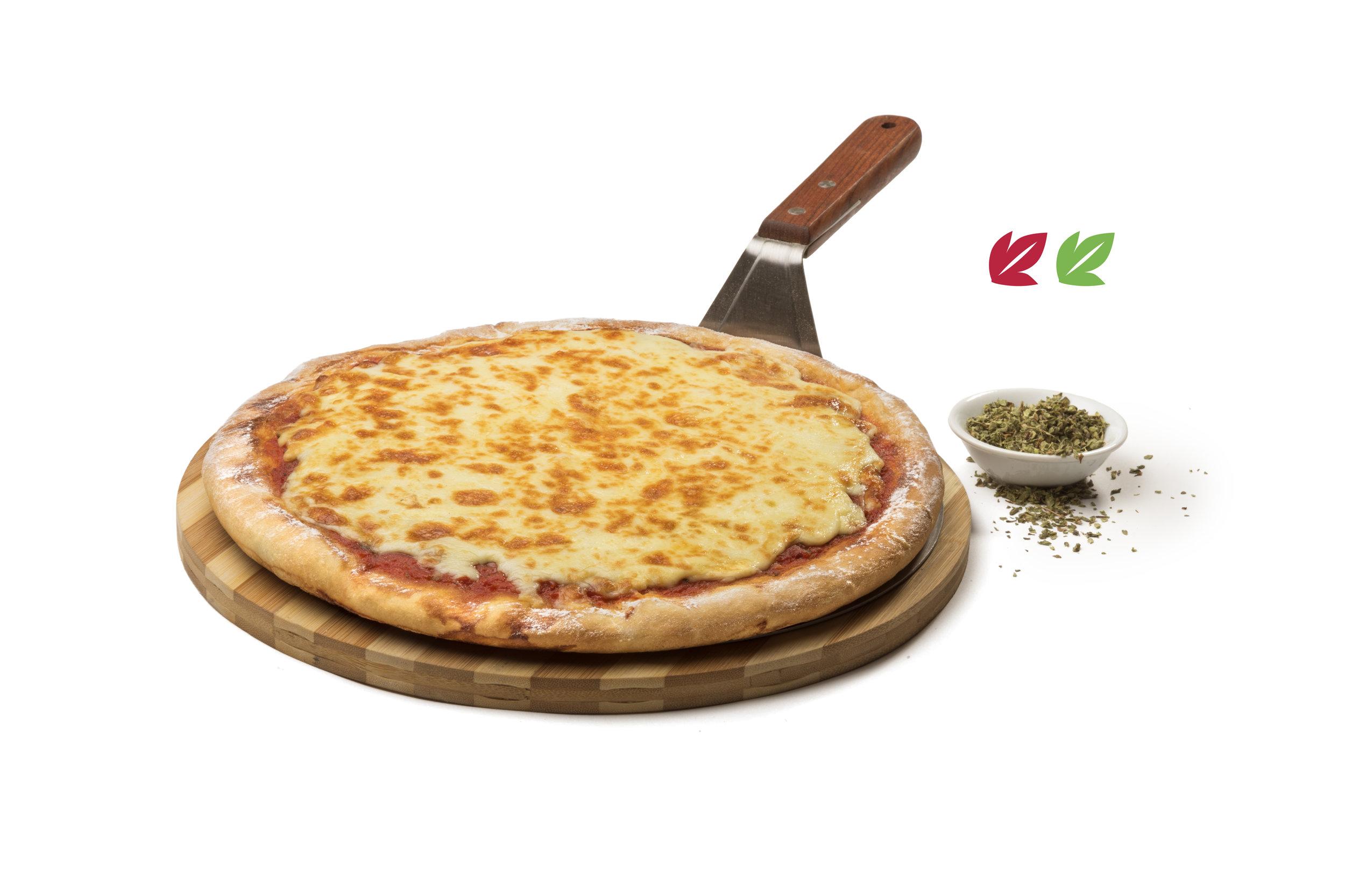 Pizzeta - 8 Porciones (30cm)Opción vegana sin Mozzarella$290 / $210