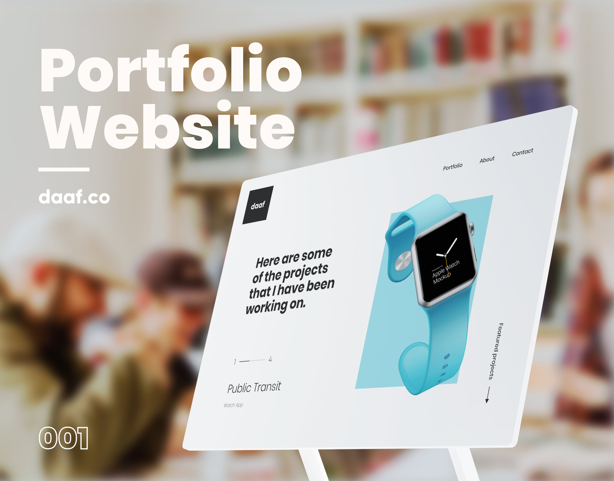 Portfolio website - Responsive Website
