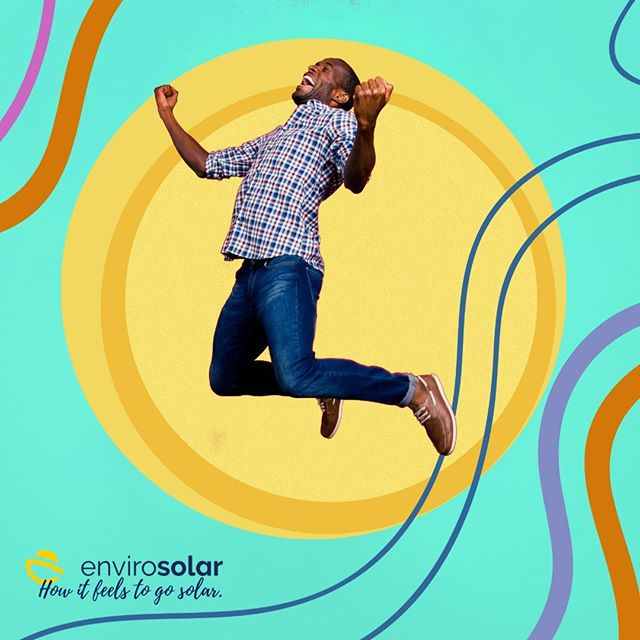 How it feels to go #Solar with EnviroSolar!  #HowItFeeling #Smart #People #Winning #SolarizeAmerica #fun #summer #happy #environment