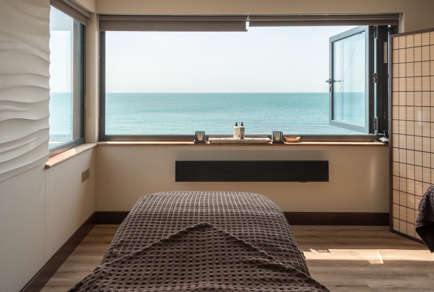 A Treatment Room with a view …