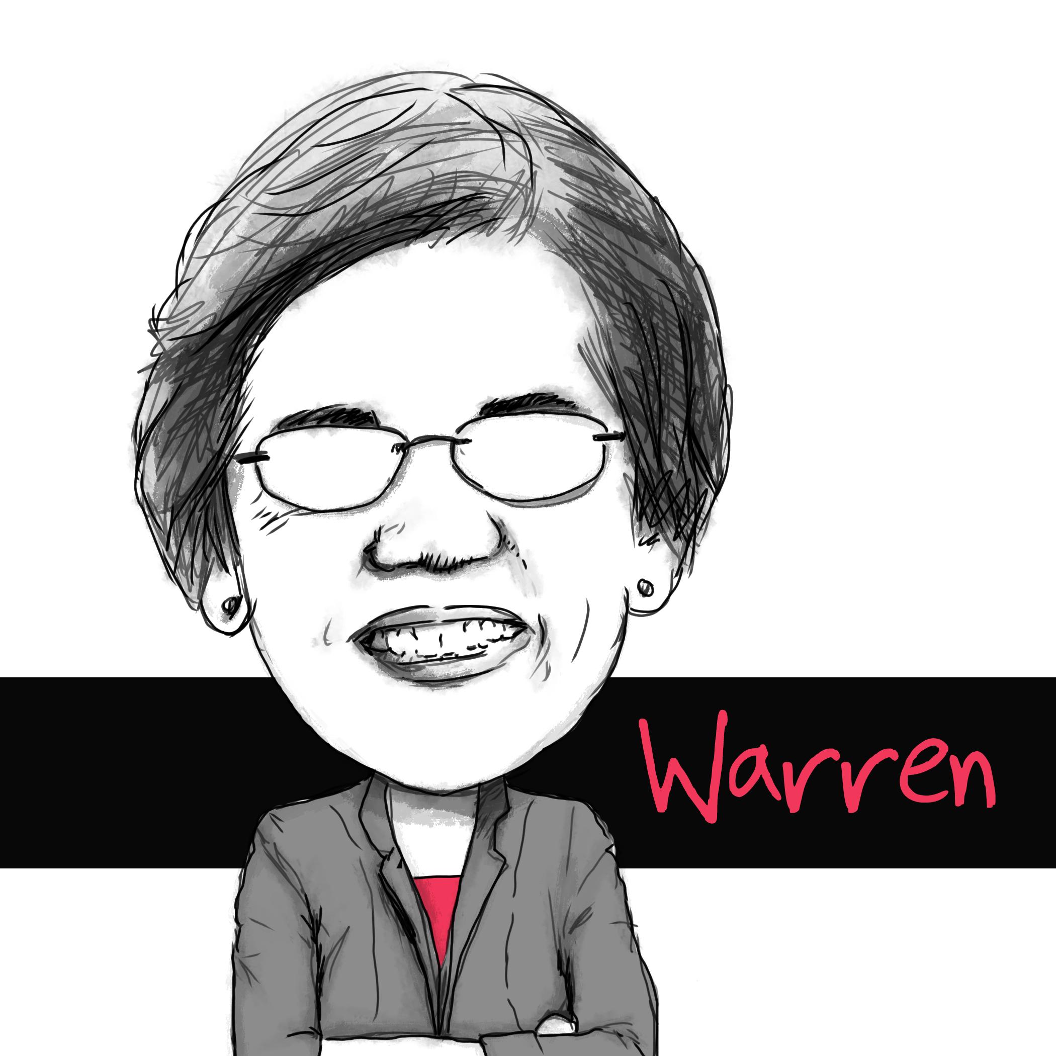 Elizabeth Warren - Together we will save democracy - https://elizabethwarren.com