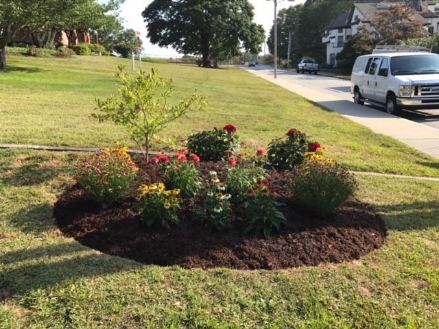 Small Plant Bed Installation 3