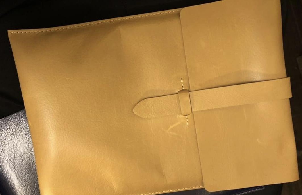 "11"" Leather iPad Case 199.00"