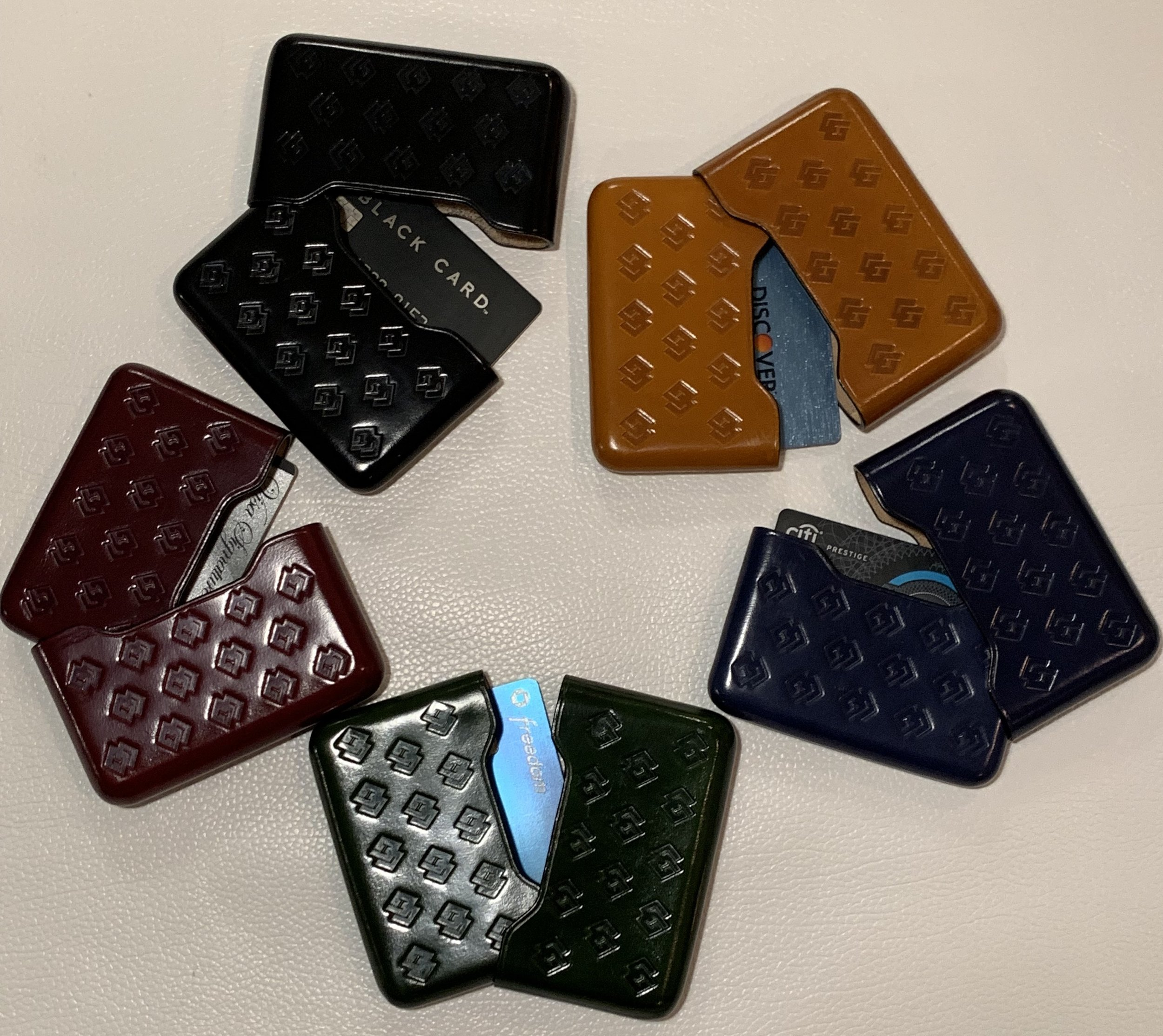 CG Leather wallets 199.00