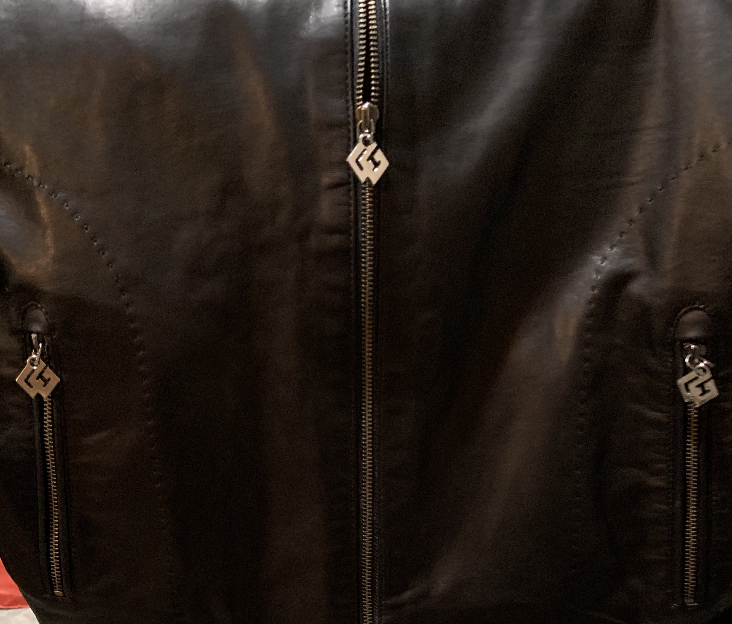 Mens Top Grain Leather Jacket 799.00