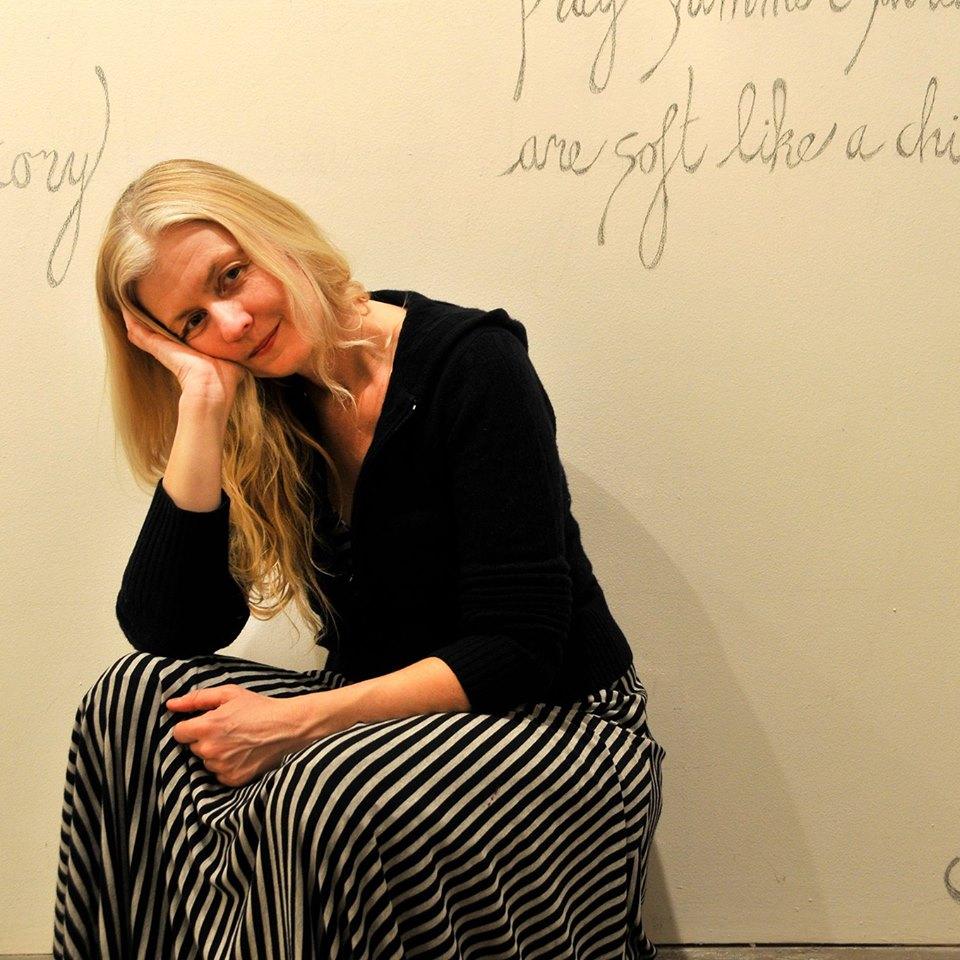 Photo: Joëlle Matthias, Poetry Wall at ICON Gallery, Fairfield, Iowa