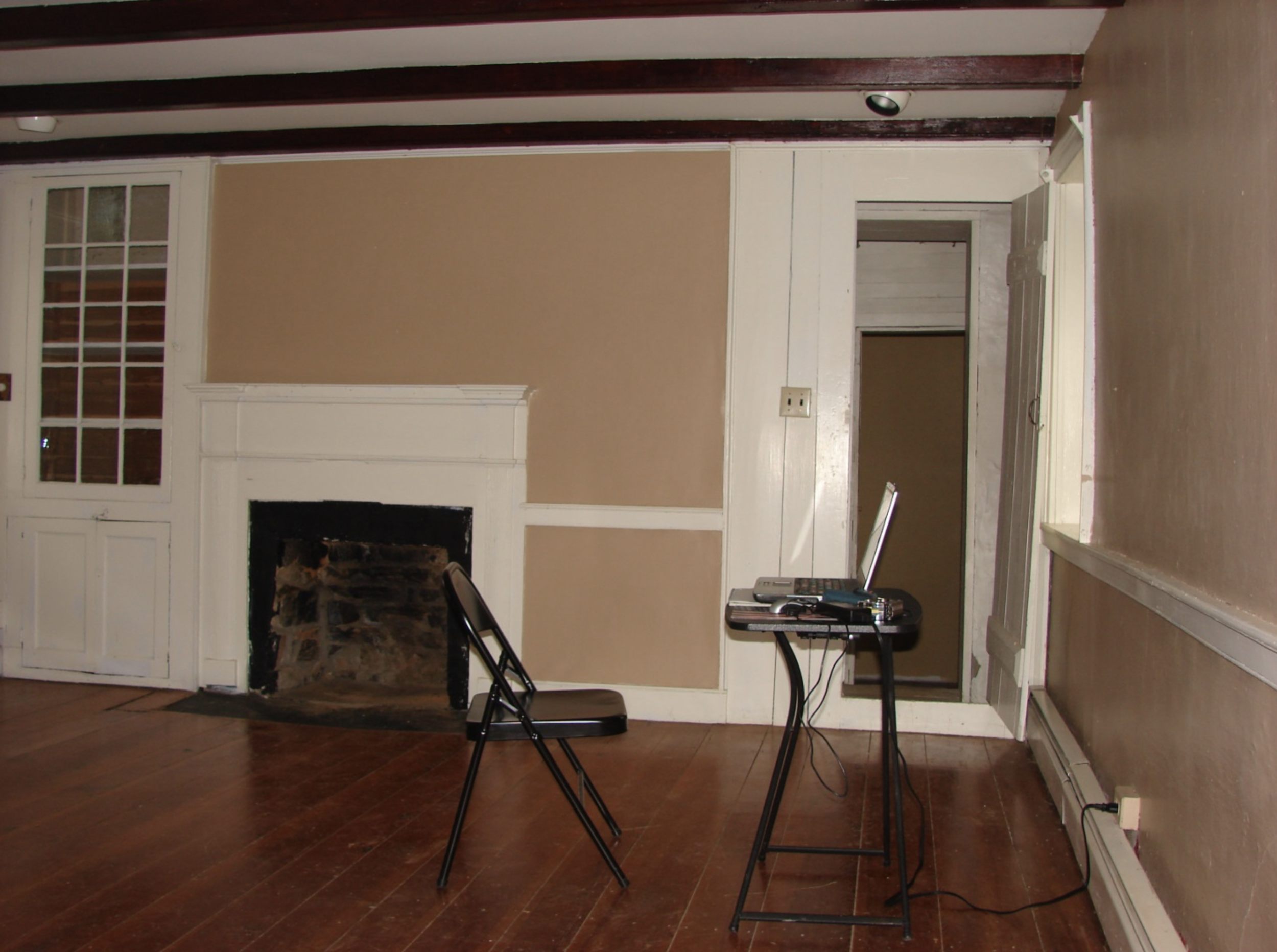 Historic Hillsboro Stone House Office  Before Renovation Photo